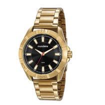 Relógio Masculino Mondaine Dourado Analógico 53831GPMVDE1 -