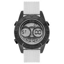 Relógio Masculino Mormaii Digital Acqua Motion MO150915AG/8P Branco -