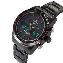 Relógio Masculino Naviforce 9024 Preto Clássico C/garantia -