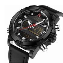 bd75d3ebacd Relógio Masculino NAVIFORCE Esporte de Quartz LED Digital Militar  Resistente à Água