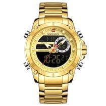 Relógio Masculino Naviforce Modelo 9163 Analógico E Digital -