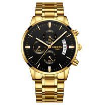 Relógio masculino Nibosi 2309 original a prova d'água 10 opções de cores -