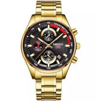 Relógio Masculino Nibosi Blindado Luxo Original -