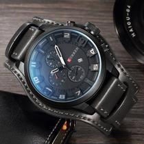 Relógio Masculino Original Curren 8225 Preto -