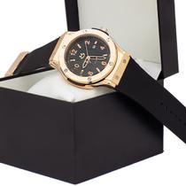 Relógio Masculino Orizom Quartz Analógico Aço Dourado -