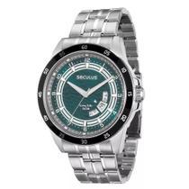 Relógio Masculino Prateado Seculus Long Life 28685g0svna1 -