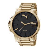 f661bb12667 Relógio Masculino Puma 96216gppmda5 54mm Dourado