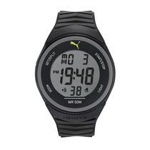 12b89693b1b Relógio Masculino Puma 96298M0PANP1 45mm Esportivo Digital Preto
