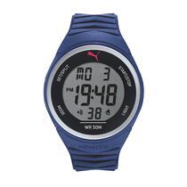 a6eaaa96dc8 Relógio Masculino Puma 96298M0PANP2 45mm Esportivo Digital Azul