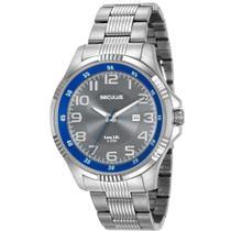 Relógio Masculino Seculus 20578G0SVNA1 Casual Prateado -
