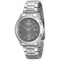 Relógio Masculino Seculus 20585g0svna2 Prata -