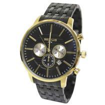 Relógio Masculino Seculus 20759GPSVHA3 - Dourado/Preto -
