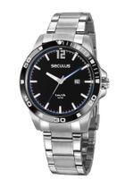 Relógio Masculino Seculus 20790G0SVNA3 45mm Aço Prata -