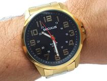 Relógio Masculino Seculus 20807gpsvda2 -