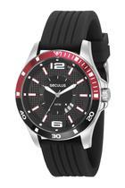Relógio Masculino Seculus 28932G0SVNI1 48mm Silicone Preto -
