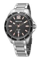 Relógio Masculino Seculus 77036G0SVNA3 48mm Aço Prata -