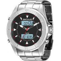 Relógio Masculino Seculus Ana/digi Prata 28803g0svna1 -