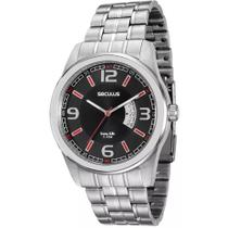 Relógio Masculino Seculus Analógico 20400g0svna1 - Prata -