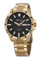 Relógio masculino Seculus Analógico 20795GPSVDA3 -
