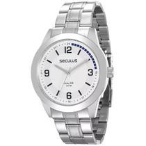Relógio Masculino Seculus Analógico 28885G0SVNA1 Prata -