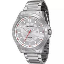 Relógio Masculino Seculus Analógico Calendário 20335g0svna1 -