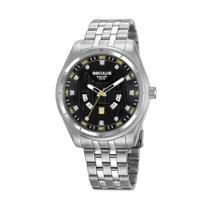 Relógio Masculino Seculus Calendário Prata 20799G0SVNA1 -