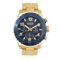 Relógio Masculino Seculus Chronograph 13011GPSVLA1 Dourado -