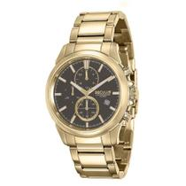 Relógio Masculino Seculus Cronógrafo 13023GPSVDA1 Dourado -