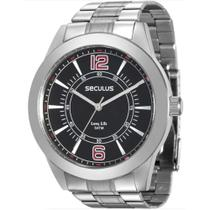 Relógio Masculino Seculus Long Life 28864g0svna1 Prata -