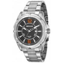 Relógio masculino seculus prateado analógico 20577G0SVNA1 -