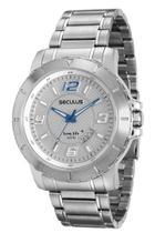 Relógio Masculino Seculus Pulseira de Aço 20385G0SVNA2 -