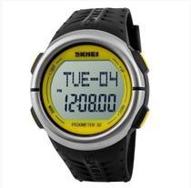 Relógio Masculino Skmei 1058 Digital Com Pedometro -