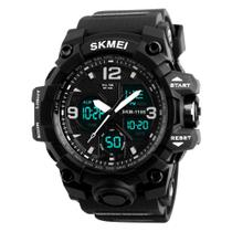 Relógio Masculino Skmei 1155 Esportivo Militar Digital AnaDigi Original Preto -