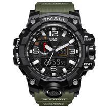 Relógio Masculino Smael Esportivo Modelo 1545 Verde -