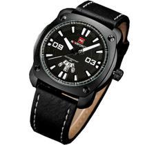 Relógio Masculino Social Analógico Naviforce 9096 Preto -