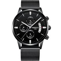 Relógio Masculino Social Esporte Nibosi 2309 Preto -
