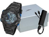 Relógio Masculino Speedo Digital - 80643G0EVNP4K1 Preto com Acessório