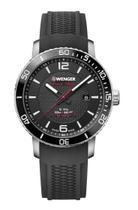 Relógio masculino Suíço Wenger Roadster Black Night 45mm 01.1841.102