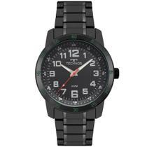 Relógio Masculino Technos 2035MNZ/4P 46mm Aço Preto -