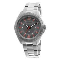 Relógio Masculino Technos 2036LOD/1R 44mm Pulseira Aço Prata -