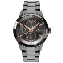 78eb65cb397 Relógio Masculino Technos Aço Grafite 48mm 6P57AB 4P
