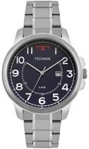 Relógio Masculino Technos Classic Steel 2115MOZ/1A 45mm Aço Prata -
