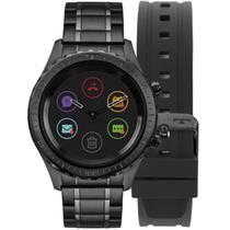87a805e53d9 Relógio Masculino Technos Connect Duo Smartwatch P01AB 4P Aço Preto