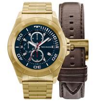 6cab71ee222b0 Relógio Masculino Technos Connect Smartwatch SRAB 4P Dourado