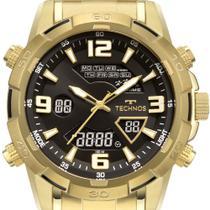 Relógio masculino Technos W23305AB1P dourado e preto -