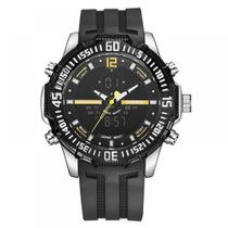 Relógio Masculino Weide Anadigi WH-6105 - Preto -