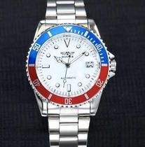 Relógio Masculino Winner Automatic Submariner Prata -