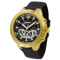 4c885c77ee0 Relógio Masculino X-Games Anadigi XMGPA002 P2PX - Dourado