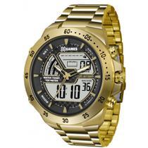 a24876fe5bd Relógio Masculino X-Games XMGSA004BXKX Dourado