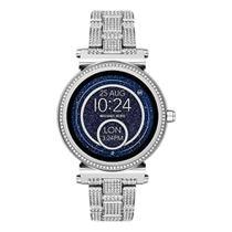Relógio Michael Kors Access Smartwatch Sofie Stainless Steel -